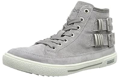 Gabor girls Tami 87 426 03 Mädchen Sneaker, Grau (ice grey), EU 38
