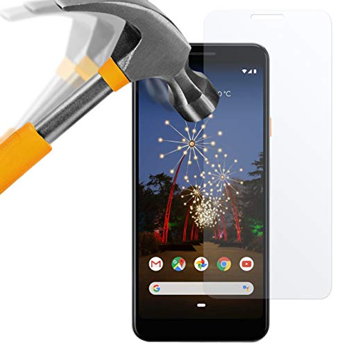 moodie Panzerglas Folie für Google Pixel 3a XL - Premium Glasfolie 9H Panzerglasfolie für Google Pixel 3a XL