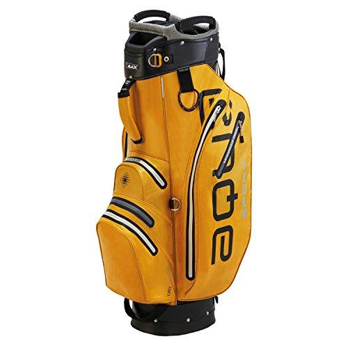 BIG MAX AQUA Sport 2 Golf Cartbag 2018 - 100% Wasserdicht (Yellow/Black/Silver)