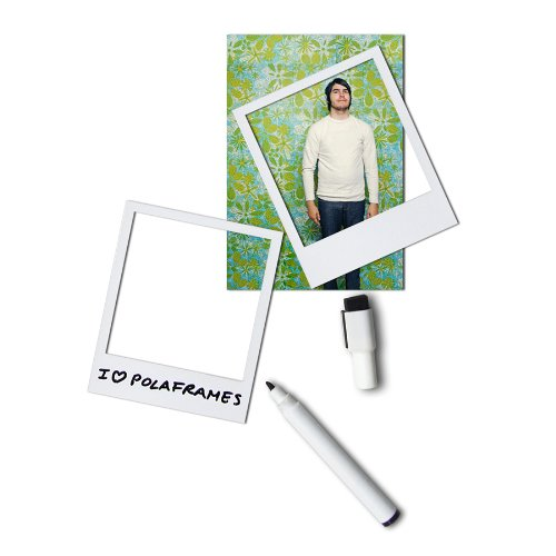 Doiy Polaframes - Pack 6 marcos foto imán + 1 bolígrafo