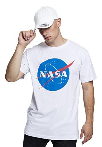 Mister Tee Uomo NASA Tee Maglietta bianco