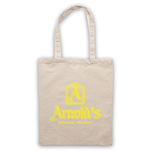 Inspiriert durch Happy Days Arnolds Inoffiziell Umhangetaschen Naturlich