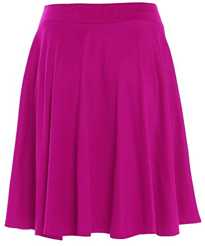 Xclusive Collection -  Gonna  - plissettato - Basic - Donna Cerise