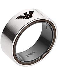 110ca14779c7 Emporio Armani Men s Silver Piercing Ring EGS2470040-9