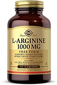 Solgar L-Arginine 1000 mg, 90 Tablets