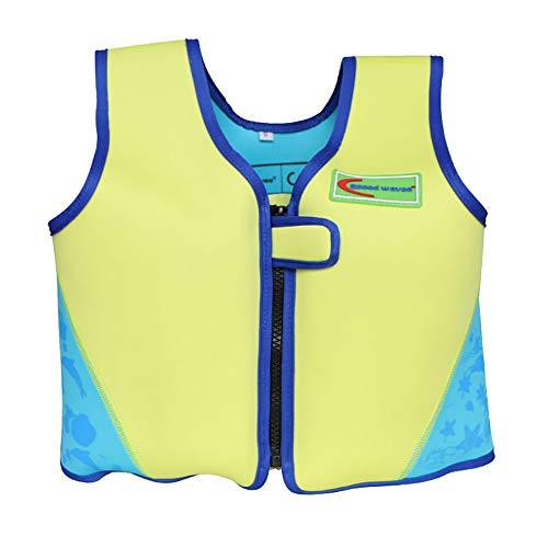 Etophigh Professionelle Schwimmen Schwimmweste Kinder Abnehmbare tragbare atmungsaktive Neoprenjacke Sicherheitsweste Drifting Survival Sportswear Swim Jacket, 2-6 Jahre