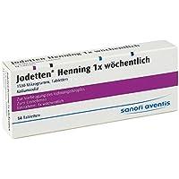 JODETTEN Henning 1x wöchentlich Tabletten 14 St preisvergleich bei billige-tabletten.eu