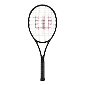 "Wilson Pro Staff 97 Countervail Black Tennis Racquet (4 1/4"" Grip) strung with Silver Tennis String Review 2018"
