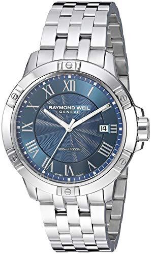 Raymond Weil 8160-ST-00508 Montre à Quartz pour Homme en Acier Inoxydable Couleur argentée