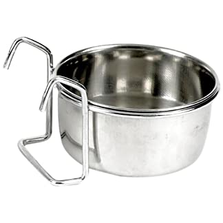 Classic Pet Products Coop Cup Stainless Steel Fixed Feeding Bowl , 600 ml 12