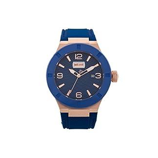 Just Cavalli Reloj Analógico para Hombre de Cuarzo con Correa en Caucho JC1G017P0035