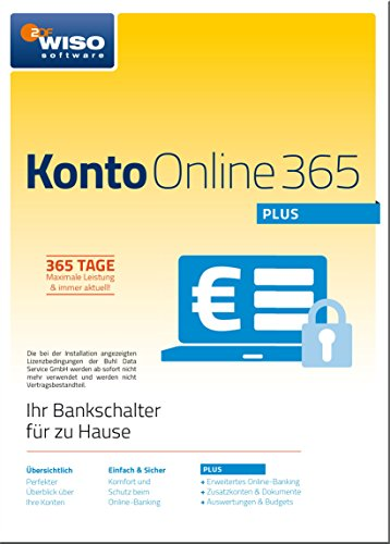 WISO Konto Online Plus 365 (aktuelle Version)