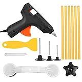 PDR Outils Débosselage Sans Peinture,DryMartine Réparation Dent de Paintless Carrosserie Outils Kits(6 Bâtons de Colle)