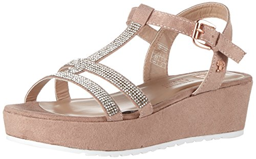 Tom Tailor Damen 2796702 Riemchensandalen, Pink (Old Rose), 37 EU