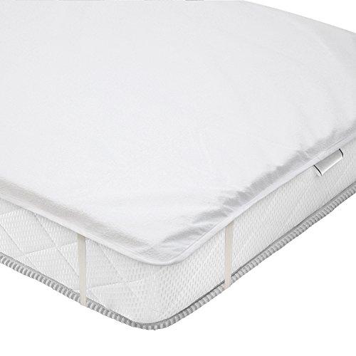 VALNEO Komfort Matratzenauflage, wasserundurchlässig, Größe 90x200 cm, mit 2 Jahren Zufriedenheitsgarantie - Matratzenschoner  Matratzenschutz  Bett-Auflage