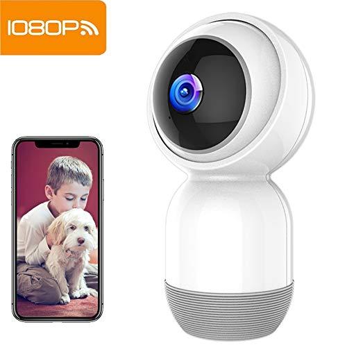 WLAN Kamera IP Überwachungskamera 1080P IP Camera WiFi Mibao mit Nachtsicht 2 Wege Audio Smart Schwenkbar Home Camera Haustier Baby Camera IP Kamera App Kontrolle Unterstützt Fernalarm...
