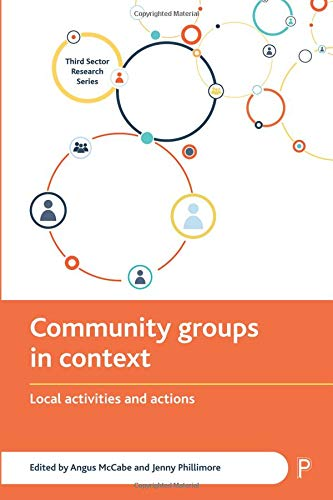 Community groups in context: Local activities and actions (Third Sector Research Series)
