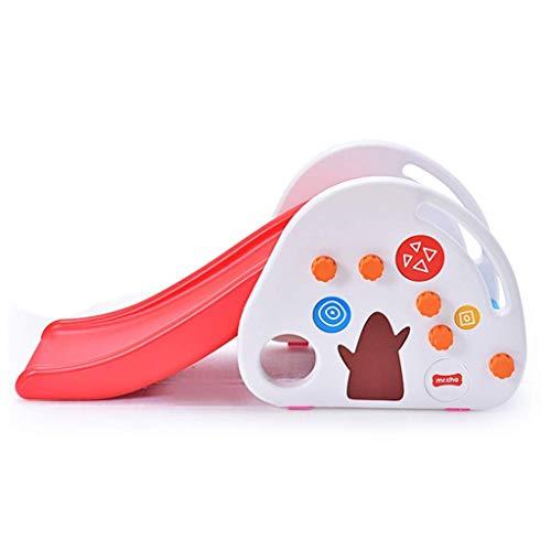BZLLW Glissière polyvalente pliante for tout-petits, toboggan intérieur Ensemble de glissières for enfants facile à assembler, idéal for les jeux en intérieur et en extérieur, idéal for les bébés de 1