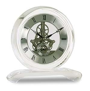 acctim 36637 hurlingham horloge de chemin e en cristal cuisine maison. Black Bedroom Furniture Sets. Home Design Ideas