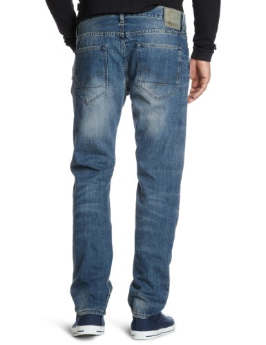 Firetrap - Jean - Homme - Straight Fit Bleu (REMOTE.W-L)