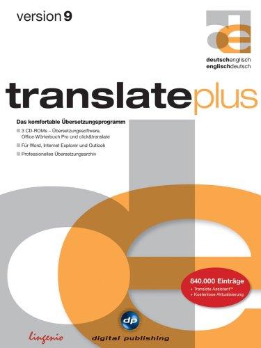 Translate Plus Deutsch Englisch Version 9