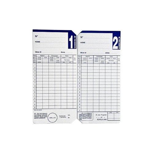 Seiko Solutions QR 350-550 Cartellini Quindicinali, Bianco, Set di 500 Pezzi