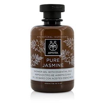 Tea Rose Duschgel (Apivita Pure Jasmine Shower Gel with Essential Oils with Jasmine , 300ml)