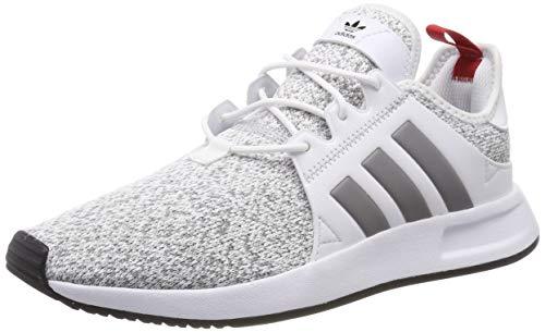 adidas X_PLR, Herren Gymnastikschuhe, Weiß (Ftwr White/Grey Three F17/Scarlet), 43 1/3 EU