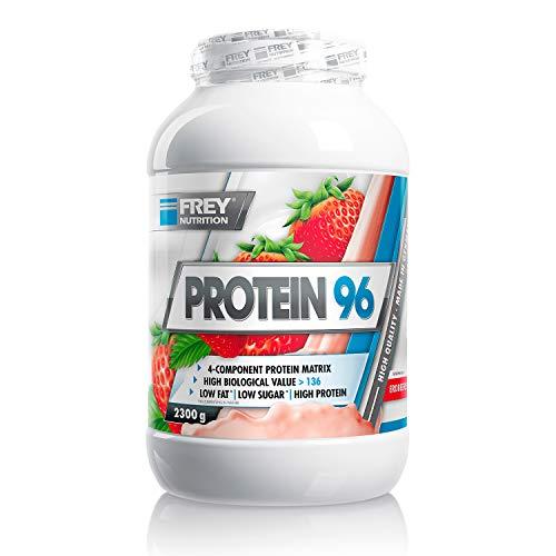 Frey Nutrition Protein 96 - 2.3 kg Dose (Erdbeere)