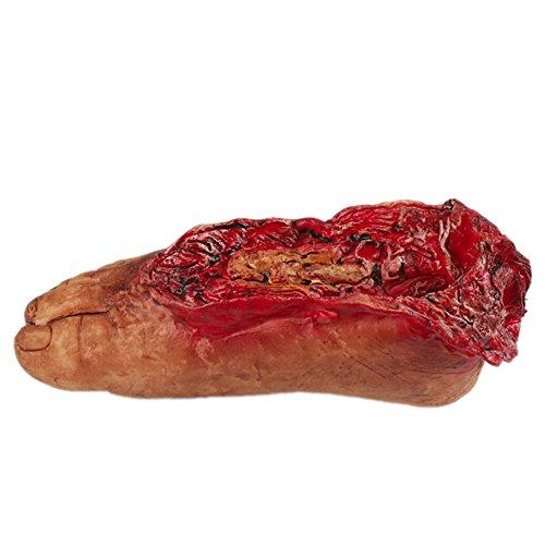 Moresave Halloween Scary Blutkörper Gebrochene Hand Fuß Lebensgroße Requisiten Spukhaus Dekorationen (Lebensgroße Halloween Requisiten)