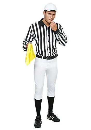 Fun Costumes Schiedsrichter Kostüm für Erwachsene - - Schiedsrichter Kostüm Für Erwachsene