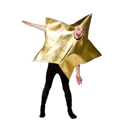 Gold Childrens Star (Kids One (Christmas Children's Star Kostüm)