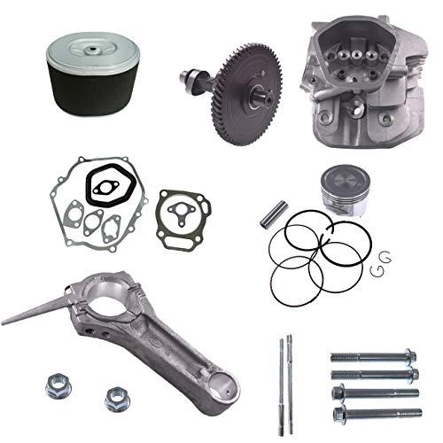 JRL Zylinderkopf Piton Kit Motor Verbindungsstangendichtung für Honda GX390 Dichtungsbolzen
