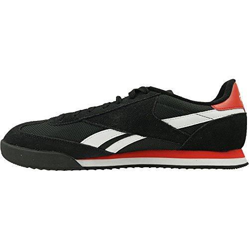 Reebok Royal Rayen 2, Chaussures de Running Entrainement Homme Noir / blanc / rouge (noir / blanc / écarlate)