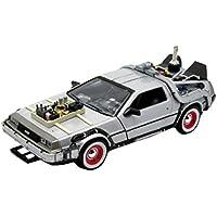 Welly - 22444, Modellino della macchina del tempo DeLorean, da