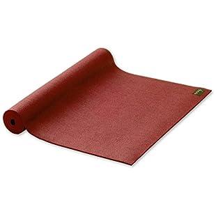 Yogamatte STUDIO extraleicht Gymnastikmatte Pilates Matte rot 60cmX183cmX3mm