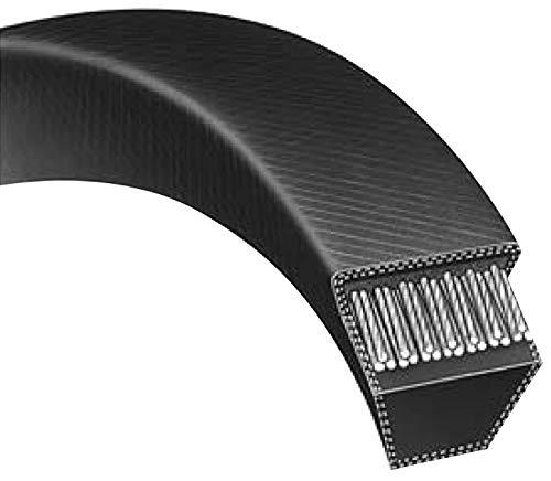 A110 : Courroie lisse trapézoïdale pour Tondeuses autoportées BERNARD LOISIRS Modèle 1542RB (bac arrière) - Longueur extérieure: 2850 mm Section: 13x8 mm - N° origine: 165631