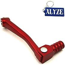 XLYZE CNC Palanca de palanca de cambio de engranaje plegable de aluminio rojo para chino 50cc