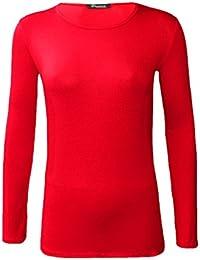 Funky Boutique - Camiseta de manga larga - para mujer