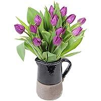 Fabulously Floral Purple Tulips Bouquet, 12 Stems