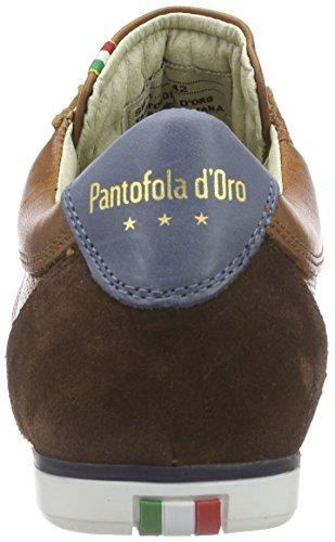 Pantofola d'Oro Pesaro Piceno, Baskets Basses homme Marron - Marron écaille de tortue