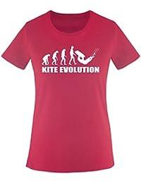 Evolution Kite - Damen Frauen T-Shirt Gr. XS bis XXL Diverse Farben