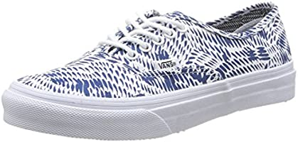 Vans Authentic Slim, Unisex Adults' Low-Top Sneakers, Blue (Blu Navy), 2.5 UK