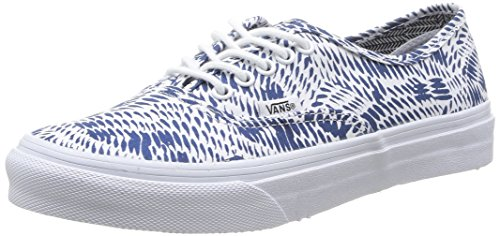 Vans AUTHENTIC SLIM, Damen Sneakers Blau - Blau (Marineblau)