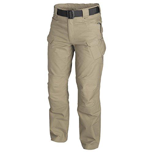 Helikon-Tex Urban Tactical Pants Polycotton Canvas Khaki - Wide Leg Cuff Hose
