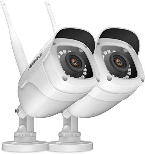 ANNKE 2PCS WLAN IP Kamera 108P HD, Überwachungskamera, Außen IP66 wasserdicht IP überwachungskamera/IP cam,30Meter Infrarot Nachtsicht
