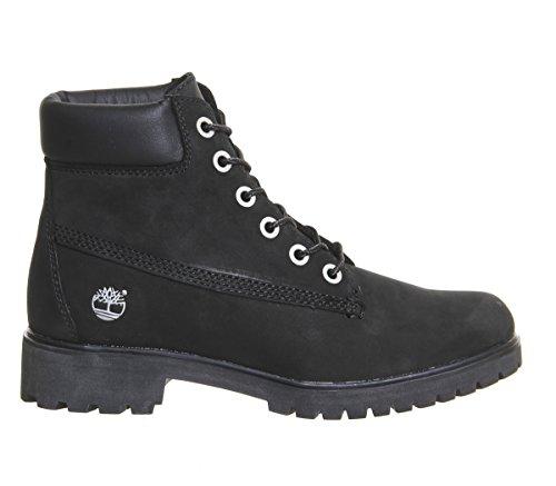 Timberland Stiefel, Gesamthöhe 15,2 cm, schmal geschnitten, Schwarz - schwarzes Nubukleder - Größe: 38 EU -