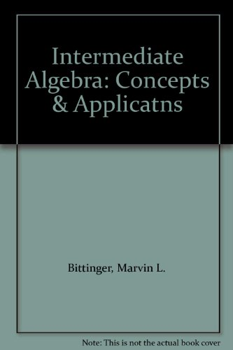 Digital Video Tutor for Intermediate Algebra:Concepts and Applications