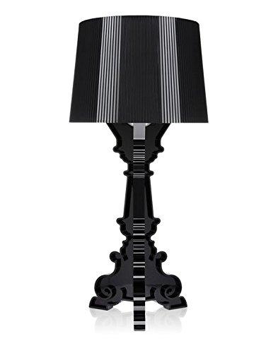 Kartell 9071Q8 Bourgie Lampada da Tavolo, Nero