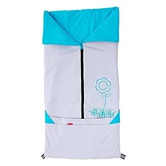 byboom®–Verano–Saco 2in1; ligero universal Saco y manta para cochecito de bebé, asiento de coche, por ejemplo para maxi-cosi, Römer, Buggy, cuna; Beige